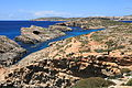 Malta - Ghajnsielem - Comino + Large Blue Lagoon Rock + Small Blue Lagoon Rock + Cominotto + Blue Lagoon 01 ies.jpg