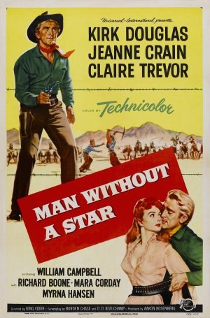 Man Without a Star - Film poster by Reynold Brown
