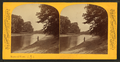 Man fishing on the Des Planes River, by P. B. Greene.png