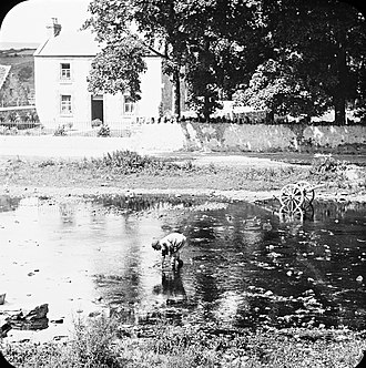 Oughterard - Oughterard and the Owenriff River c.1890-1910