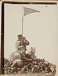 Man with binoculars 1899, British Antarctic (Southern Cross) Expedition.jpg