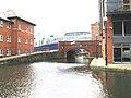 Manchester, Ashton Canal, Jutland Street Bridge 2 - geograph.org.uk - 1700216.jpg