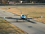 Mannheim City Airport - Socata TBM-930 - D-FELE - 2019-02-25 17-33-07.jpg