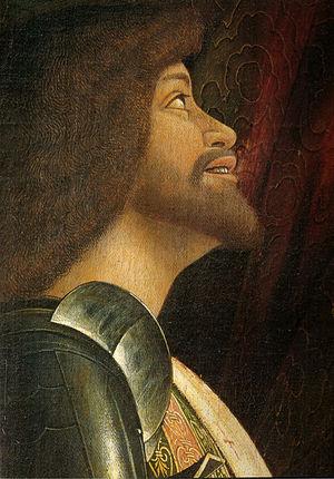 Madonna della Vittoria - Detail of Francesco Gonzaga