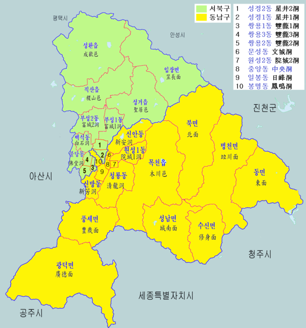 Map Cheonan City District-new.png