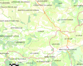 Map commune FR insee code 12077.png