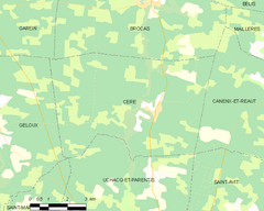 Map commune FR insee code 40081.png