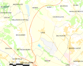 Map commune FR insee code 64549.png