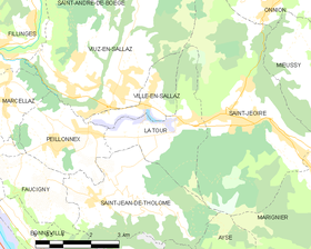 Map commune FR insee code 74284.png