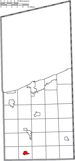 Location of Orwell in Ashtabula County
