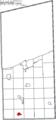 Map of Ashtabula County Ohio Highlighting Orwell Village.png