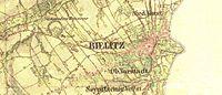 Map of Bielitz 1855.jpg
