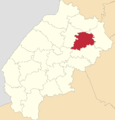 Map of Lviv Oblast highlighting Busk Raion.png