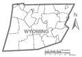 Map of Wyoming County, Pennsylvania No Text.png