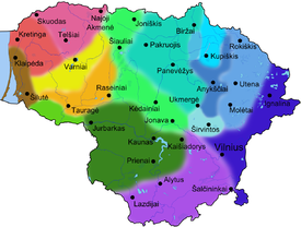 Map of dialects of Lithuanian language.png