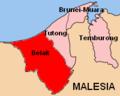 Mappa distretto di Belait.PNG