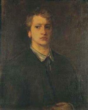 Adolf von Hildebrand - Hans von Marées, Portrait of the sculptor Adolf von Hildebrand