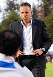Marc Dos Santos Canadian-Portuguese soccer manager
