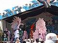 Mardi Gras Indians stage JazzFest 2005.jpg