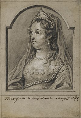 Marguerite of Constantinople, Countess of Flanders, door Joannes Meyssens