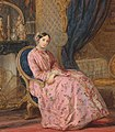 Maria Nikolaevna von Leuchtenberg by C.Robertson (mid. 19 c., Hermitage).jpg