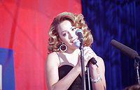 R&B singer Mariah Carey.