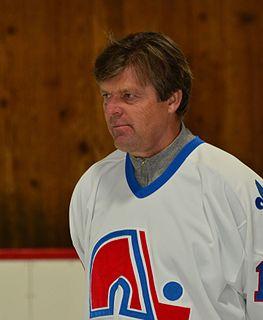 Marián Šťastný Slovak ice hockey player