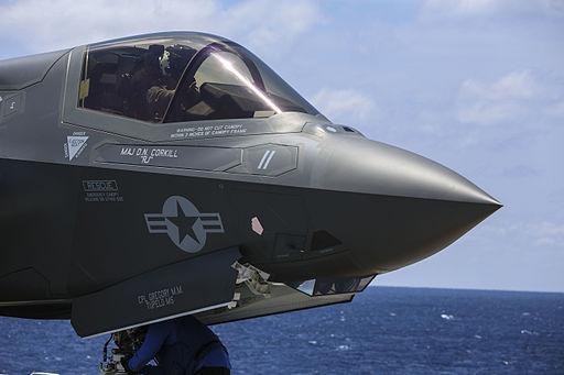 Marines make progress with F-35B during OT-1 150521-M-GX379-028