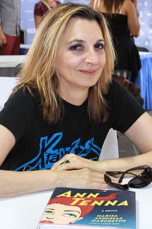 Marchetto at the 2015 Texas Book Festival