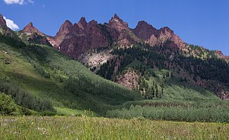 Elk Mountains (Colorado) - Maroon Bells