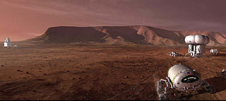 Mars to Stay Mars exploration mission type pushing for the installation of a permanent colony