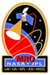 Mars Reconnaissance Orbiter insignia.png