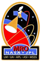 Mars Reconnaissance Orbiter insignia