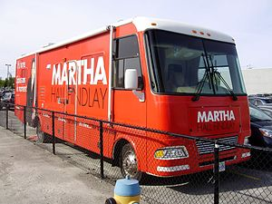 Martha Hall Findlay -  Martha Hall Findlay's Big Red Bus.
