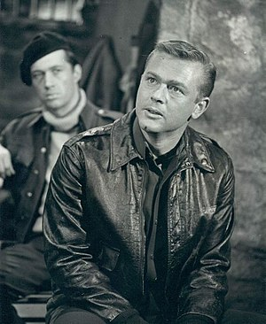 "David Carradine - David Carradine (left) and Martin Milner in the Chrysler Theatre presentation ""The War and Eric Kurtz"" (1965)"