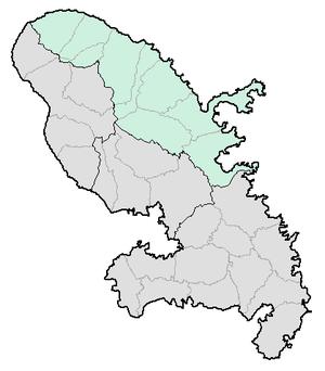Arrondissement of La Trinité - Image: Martinique arr trinite