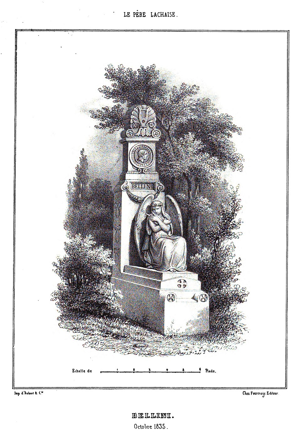 Marty - Les principaux monuments funéraires - Bellini