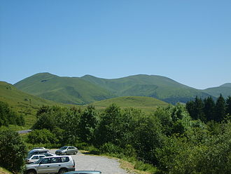 Monts Dore - Peaks in the northern Monts Dore
