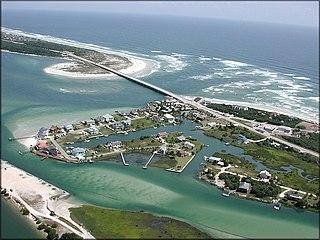 Matanzas Inlet Ocean inlet in Florida, US