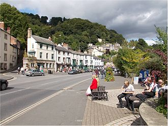 Matlock Bath - The main shopping and refreshment area situated on the A6 road, Matlock Bath