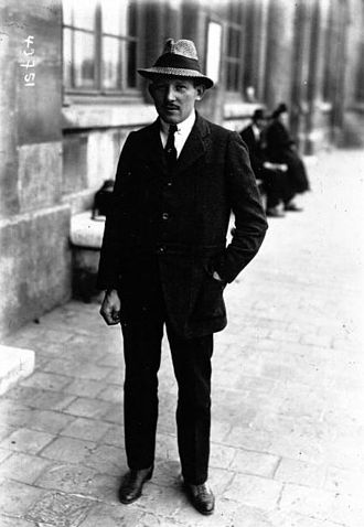 Maurice Prévost - In Reims at the Gordon-Bennett cup