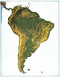 WikichicosLa TierraLos ContinentesAméricaAmérica Del Sur - Mapa de sur america