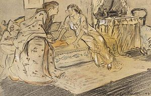 May Wilson Preston - May Wilson Preston, The Confidantes, 1907, Barnes Foundation