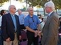 Mayor Will Casey, City Manager Joe Sbranti and Congressman George Miller (6277483726).jpg