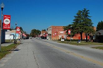 McColl, South Carolina - Downtown McColl