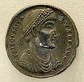 Medaglione romano argenteo con prisco attalo, roma 409-410, 02.jpg