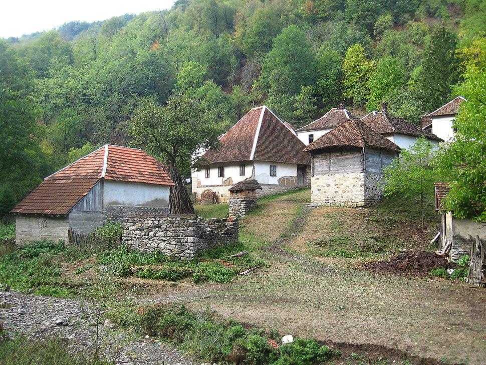 Medvednik - zapadna Srbija - selo Vujinovača - mesto Bebića Luka 1