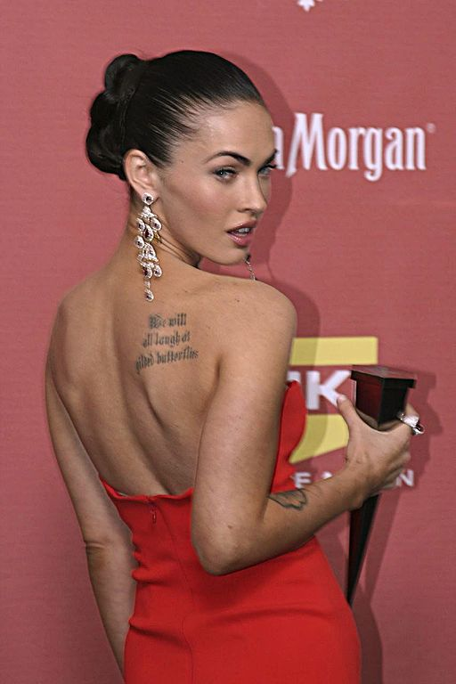 Megan Fox back