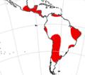 Megatheriidae range.png