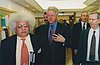 Meghnad Desai, Bill Clinton and Anthony Giddens, 2001.jpg